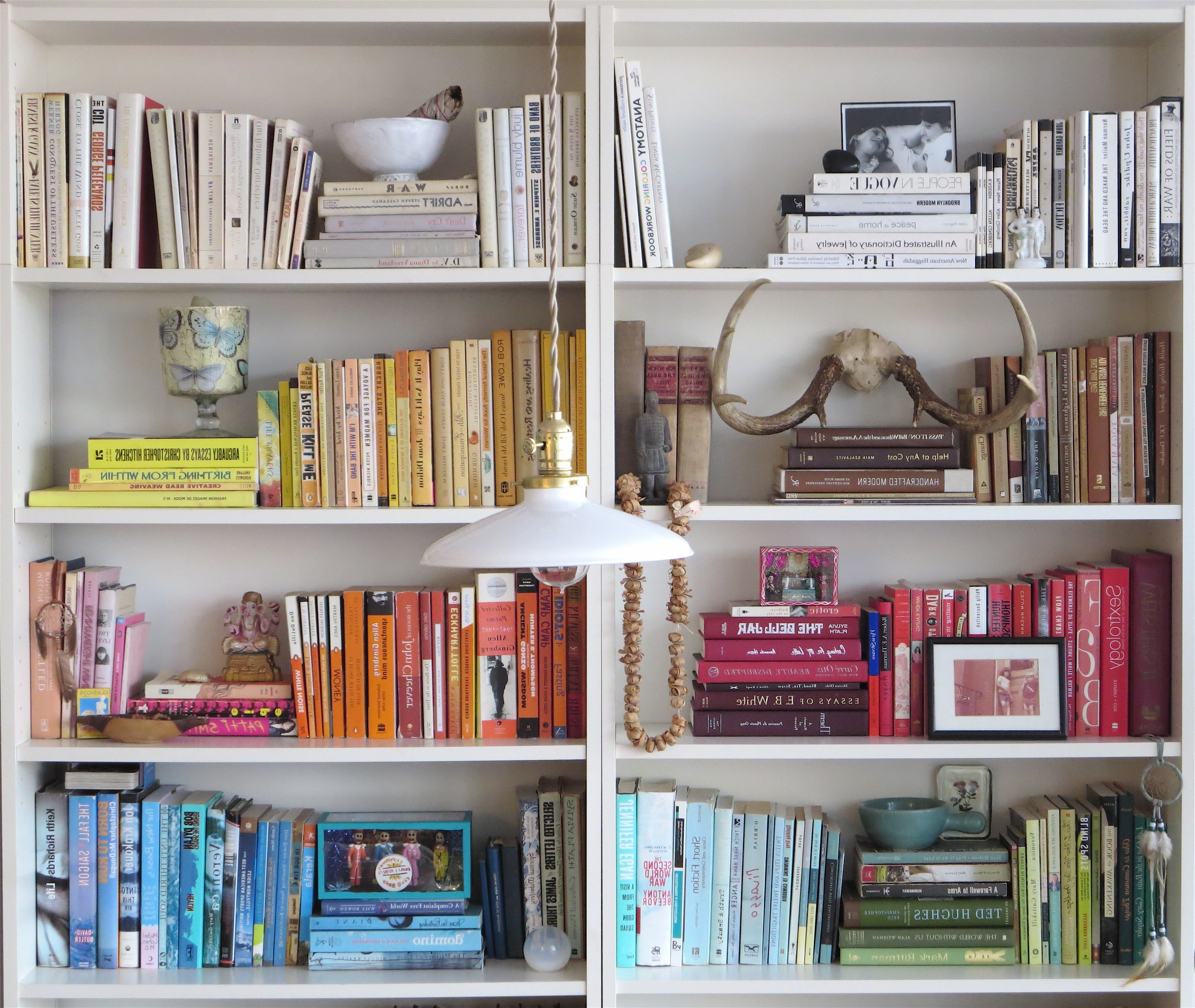 Colored Bookcases In 2017 Ideas Of Ameriwood 3 Shelf And 5 Shelf Bookcases Mix And Match (View 2 of 15)