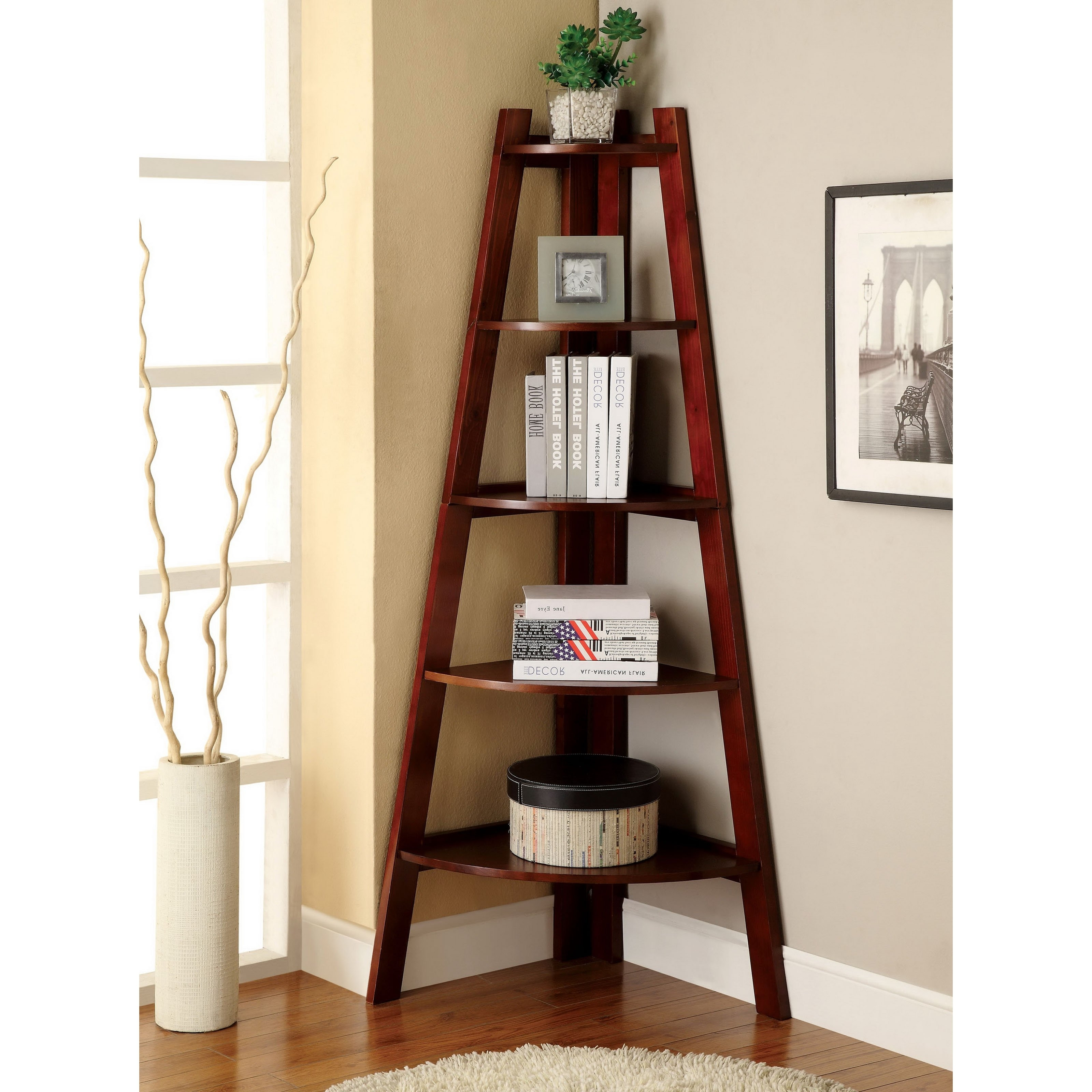 Corner Bookcases In Widely Used Corner Bookcases & Bookshelves (View 8 of 15)