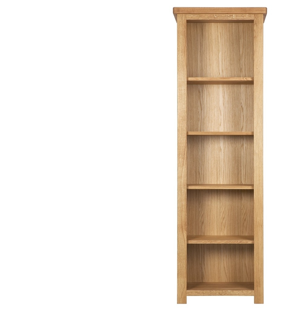 Corner Oak Bookcases For Trendy Furniture Home: 32 Exceptional Narrow Bookcases Images Design (View 6 of 15)
