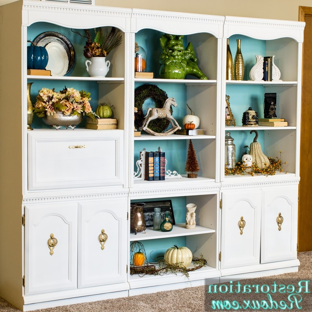 Craigslist Bookcases Within Popular The Blogger Spotlight: Restoration Redoux – Redhead Can Decorate (View 7 of 15)