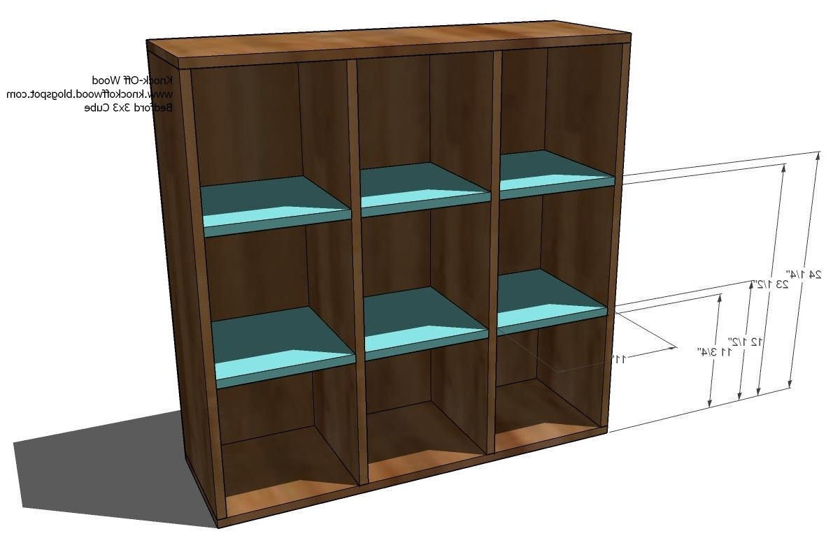 Cubby Bookcases Modular Office Collection – Diy Projects (View 7 of 15)
