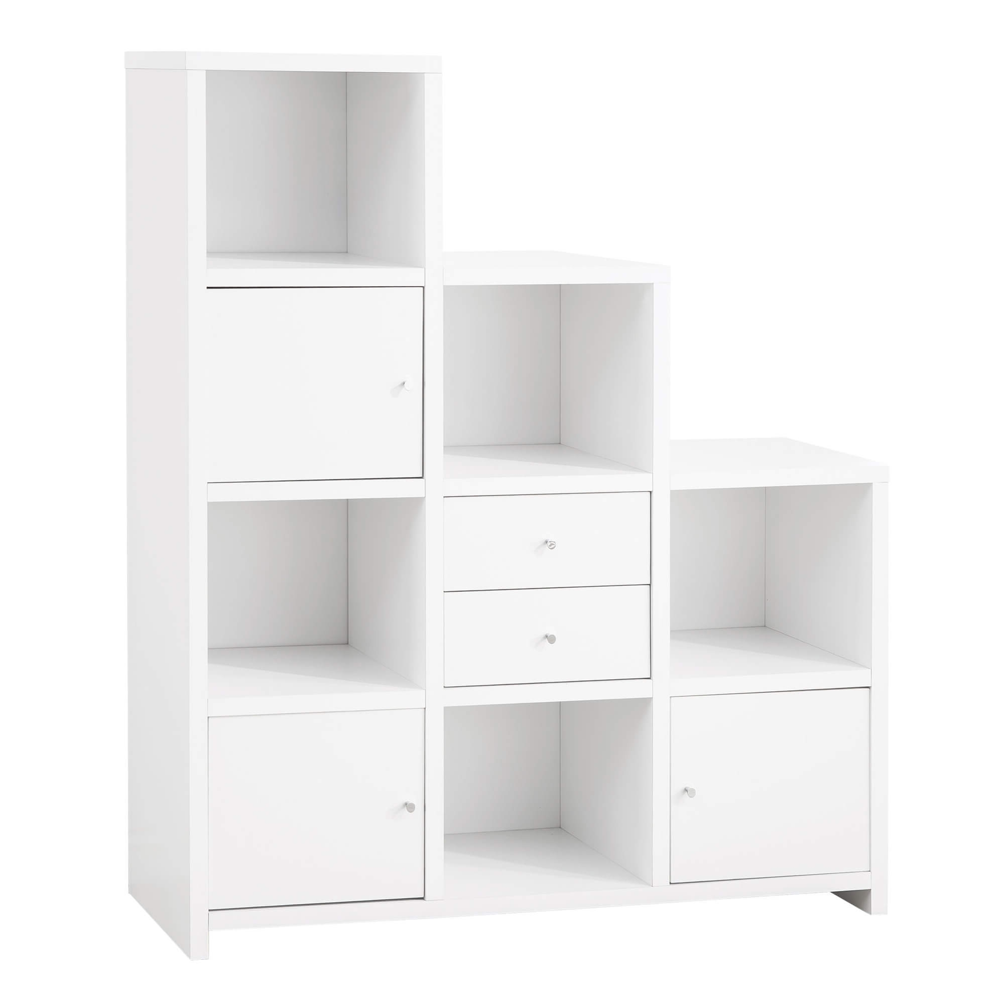 Cube Bookcase White, Target Cube Bookshelf Cube Storage Shelves For Well Known Target White Bookcases (View 10 of 15)