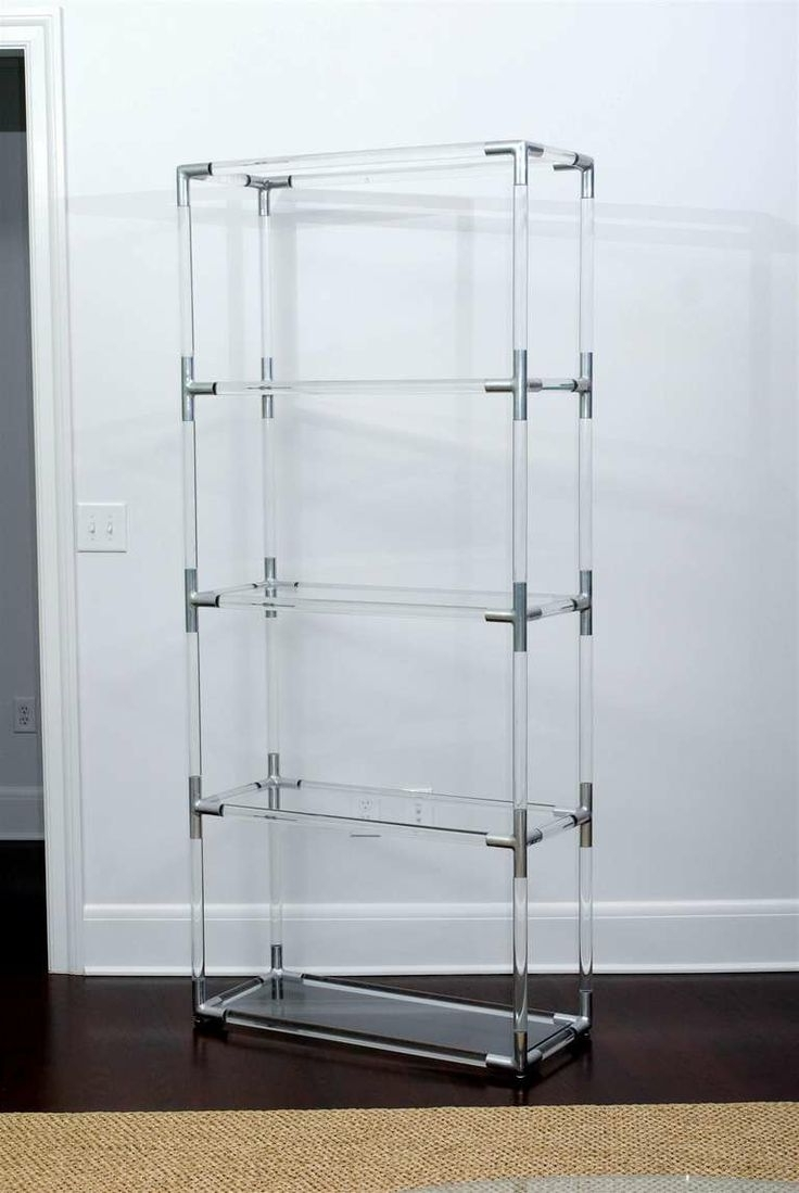 Current Acrylic Bookcases Throughout Furniture Home: Furniture Home Acrylic Bookcase Breathtaking Photo (View 7 of 15)