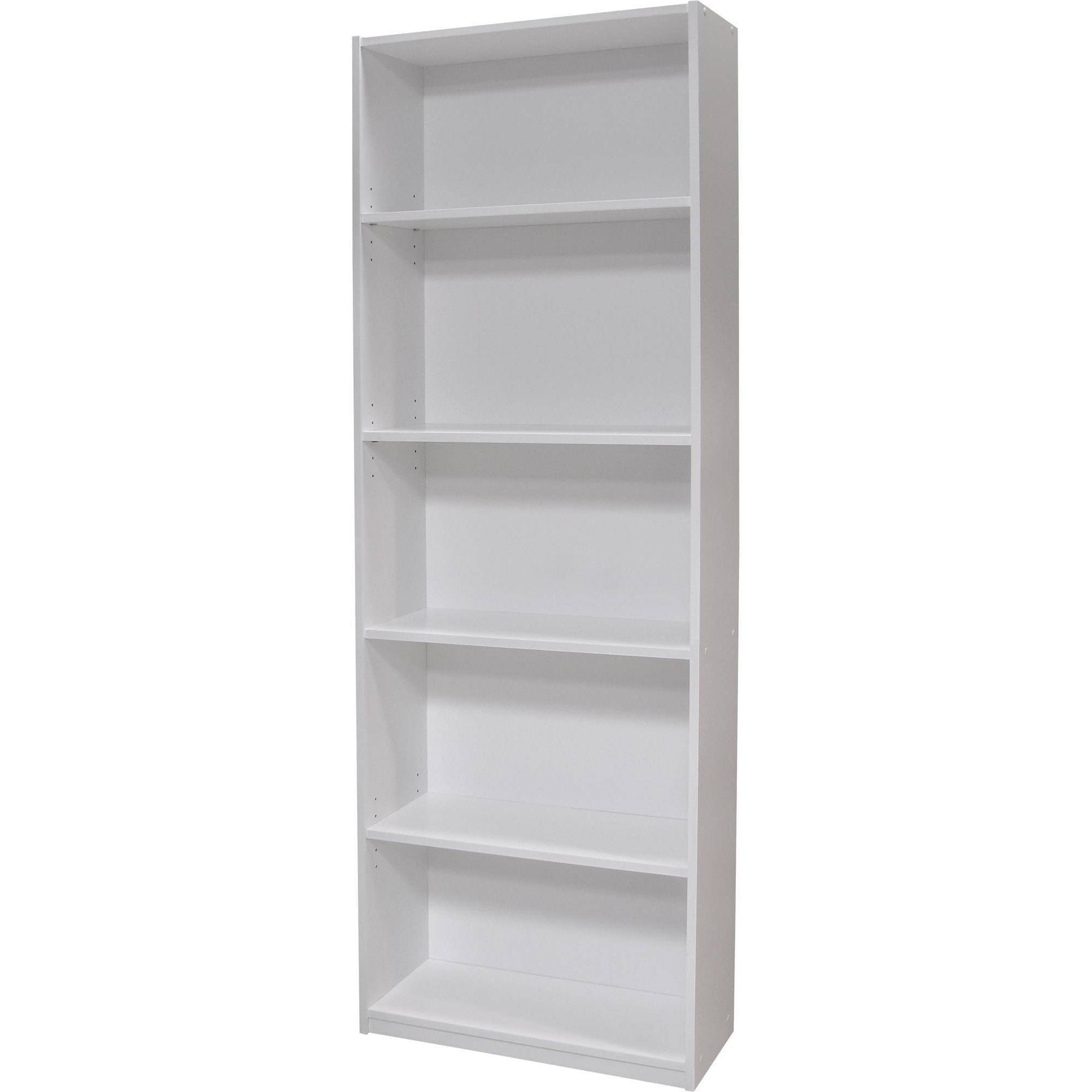 Current Ameriwood 5 Shelf Bookcases, Set Of 2 (Mix And Match) – Walmart Inside White Bookcases (View 5 of 15)