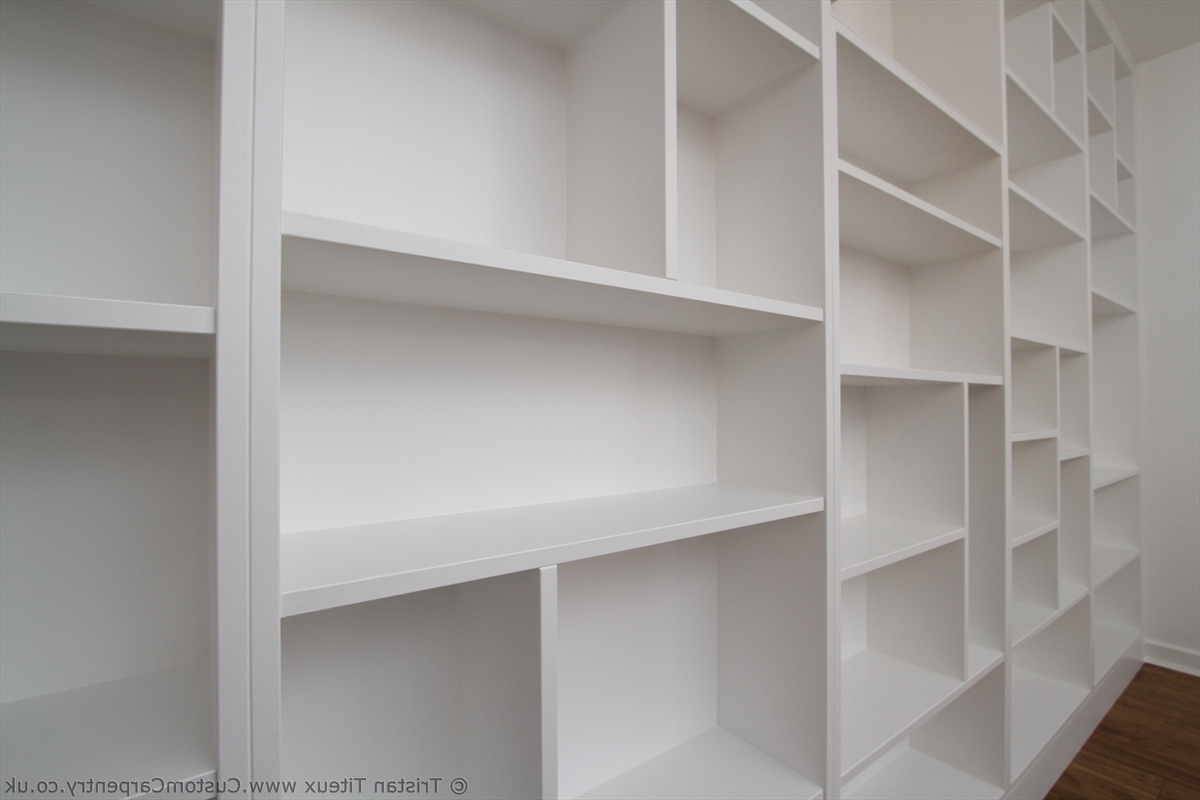 Current Bespoke Shelving Units For Feature Seams Or Seamless Fitted Furniture – Empatika (View 6 of 15)