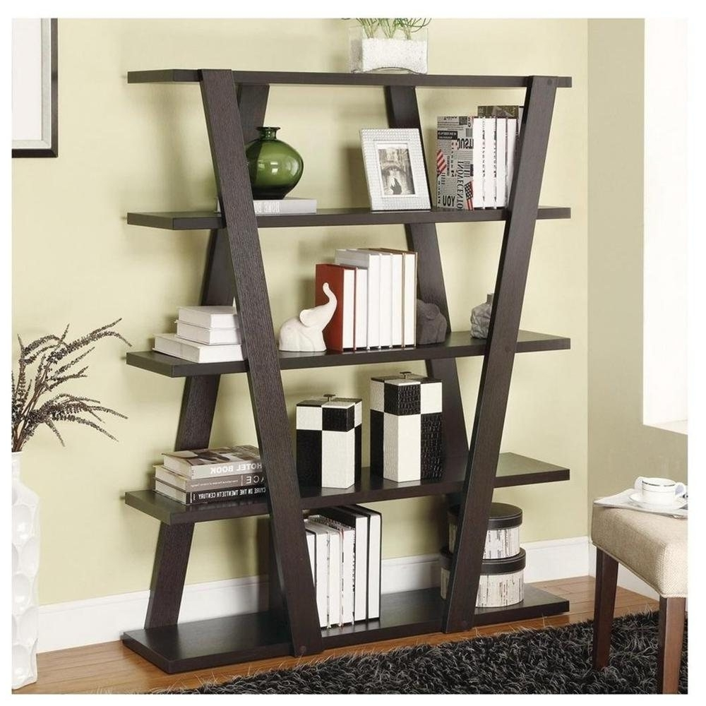 Current Cheap Contemporary Bookcases : Modern Contemporary Bookcase Throughout Decorative Bookcases (View 15 of 15)