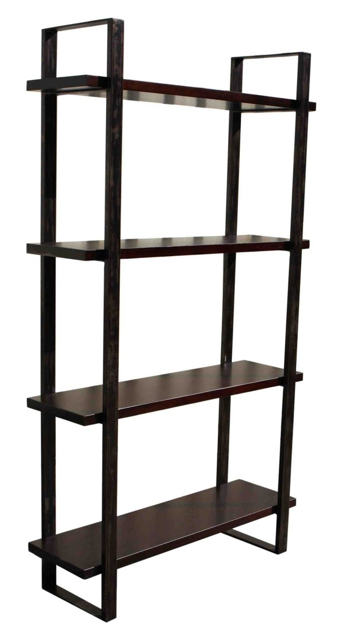 Current Decor: Metal And Wood Bookcase For Your Room Decor — Cafe1905 Within Wood And Metal Bookcases (View 11 of 15)