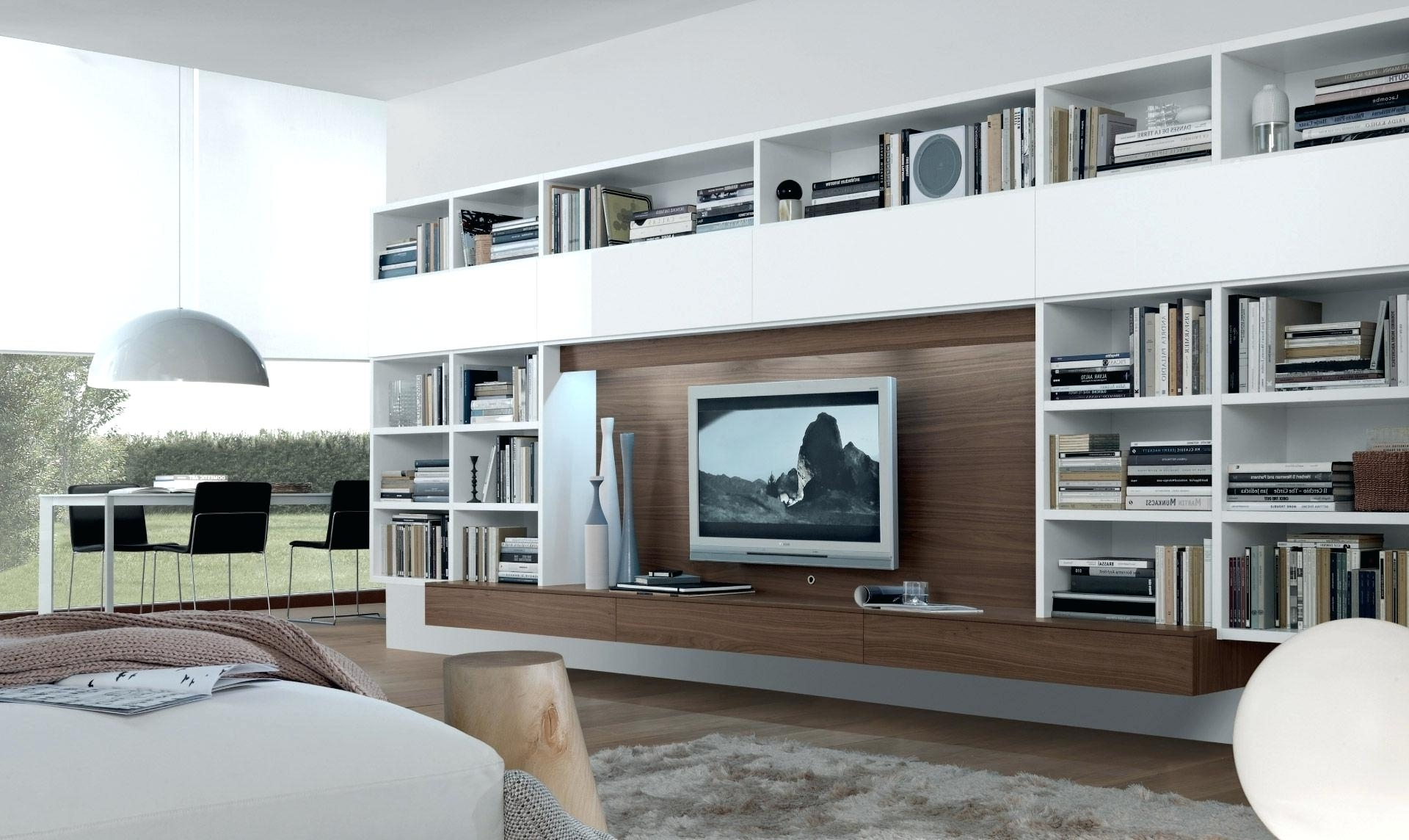 Current Decoration: Tv Shelving Wall Units Regarding Tv Bookcases Unit (View 5 of 15)