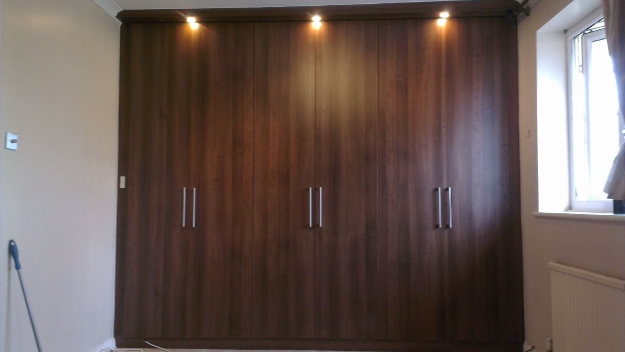 Current Fitted Img Built In Wardrobe Doors Dark Brown Colour Wardrobes Within Dark Wardrobes (View 6 of 15)