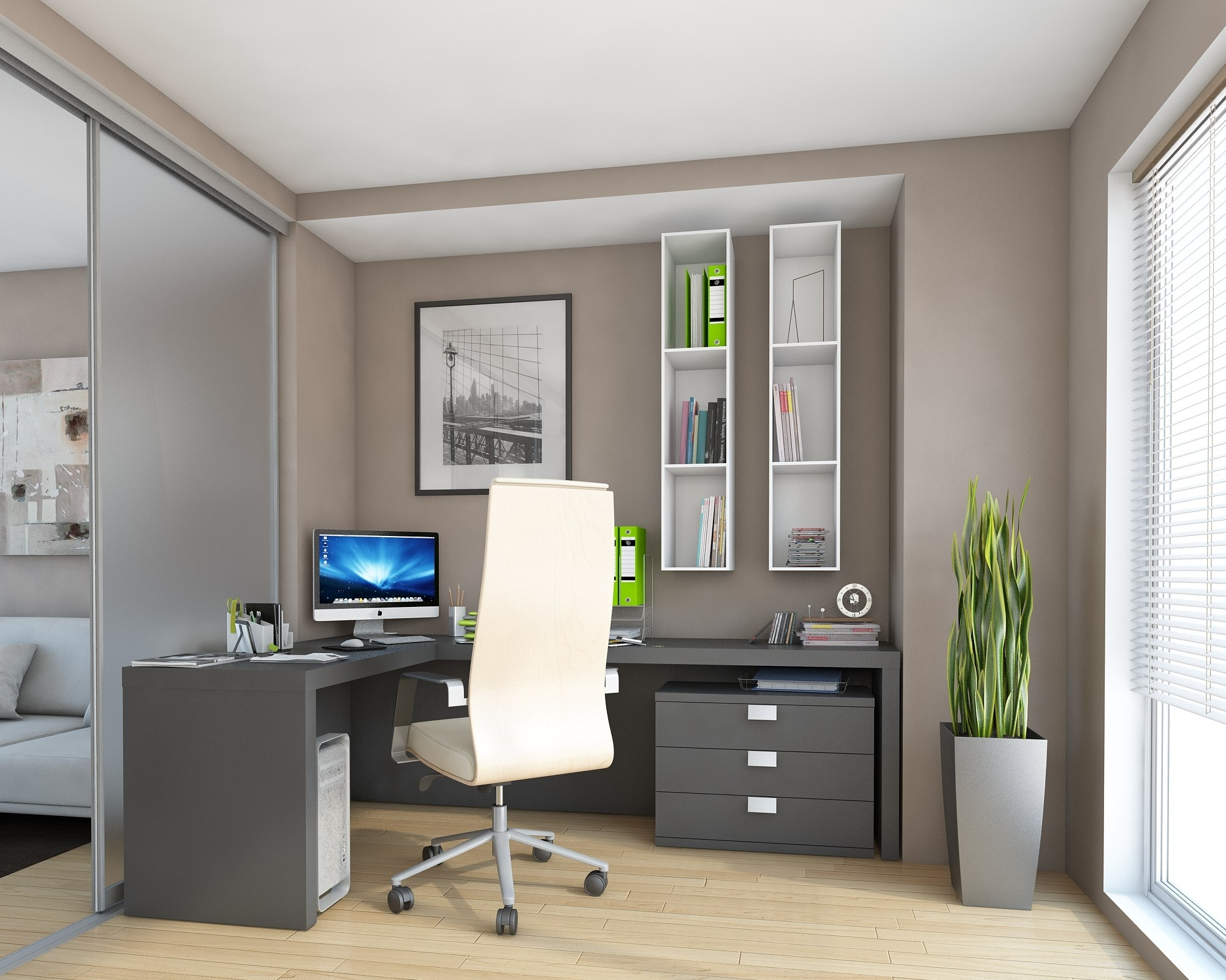 Current Fitted Office Furniture For Fitted Home Office Furniture # (View 2 of 15)