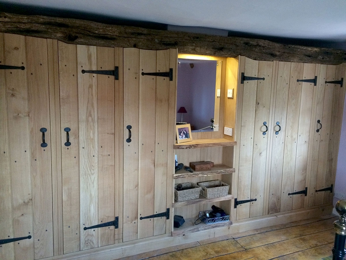 Current Fitted Wooden Wardrobes Within Solid Wood Fitted Wardrobes – The Norfolk Carpenter (View 5 of 15)
