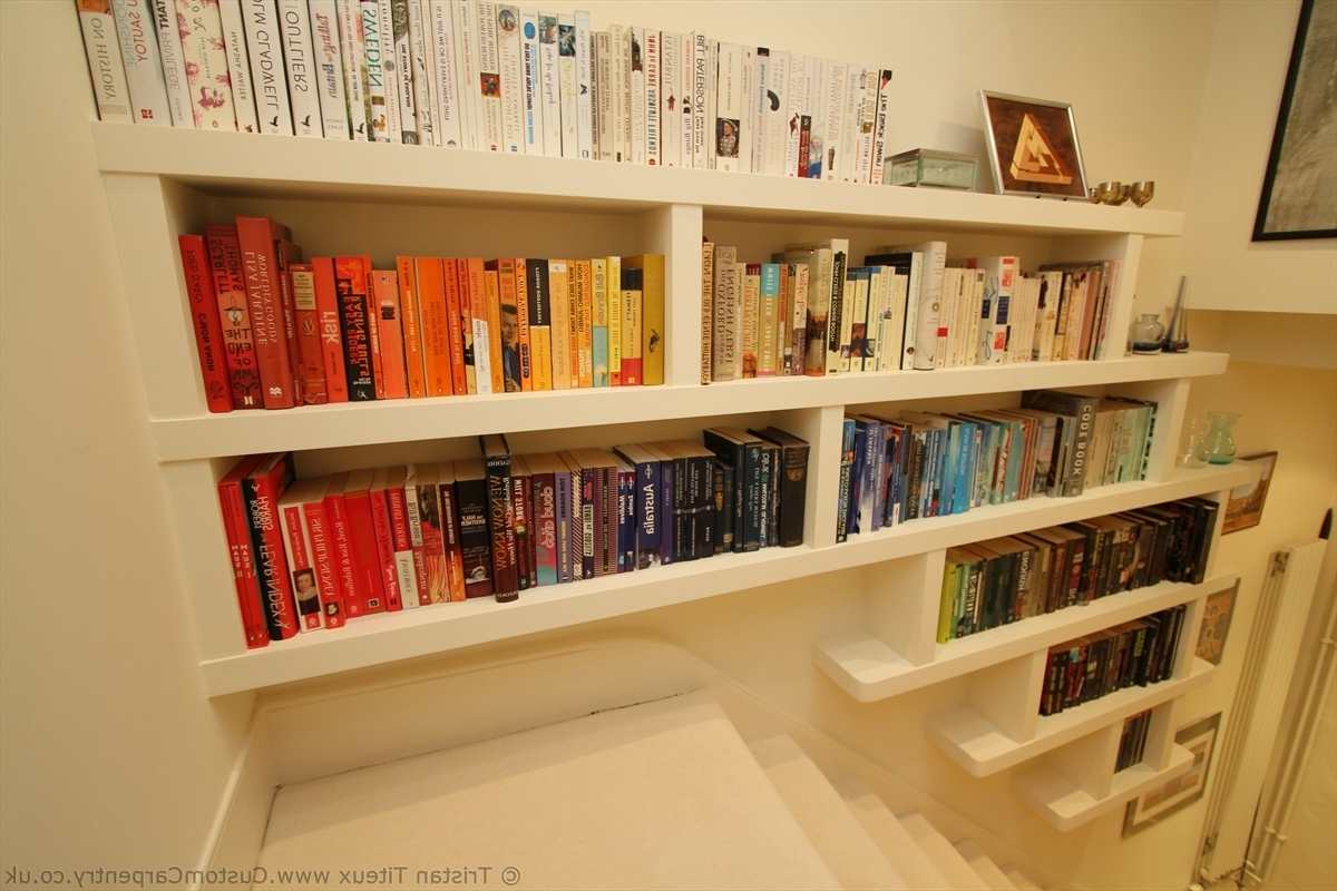 Current Floating Bookcases Intended For Design Smart Floating Bookcase : Doherty House – Build Floating (View 1 of 15)