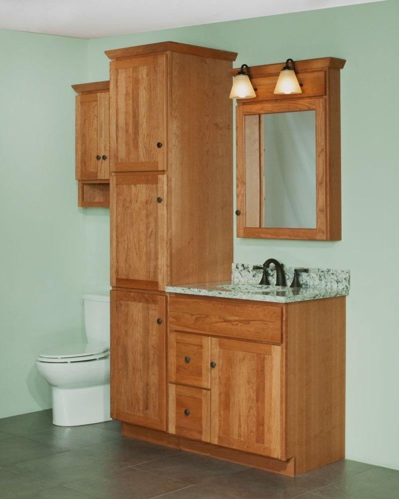 Current Furniture : Oak Linen Cupboard Black Towel Cabinet 20 Inch Wide In Oak Linen Cupboard (View 3 of 15)