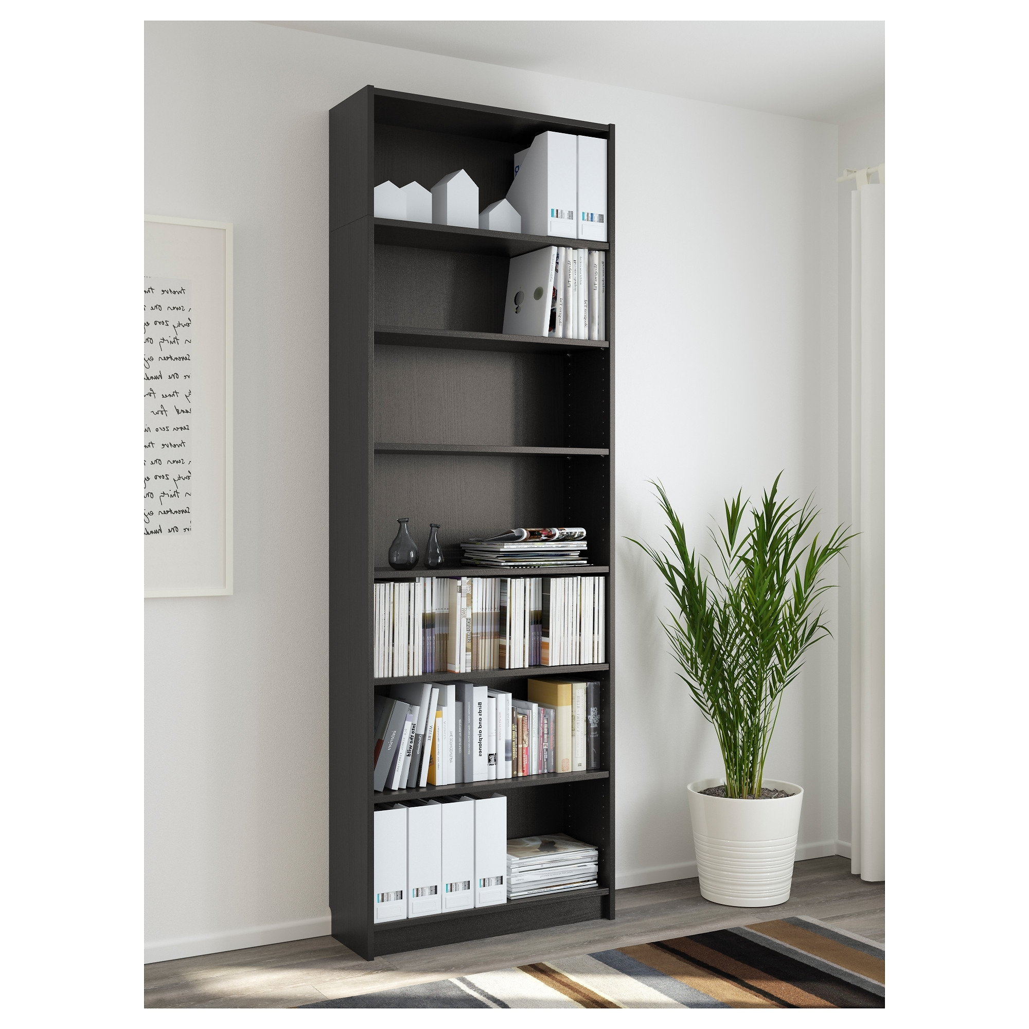 Current Ikea Billy Bookcases Within Billy Bookcase – White – Ikea (View 7 of 15)