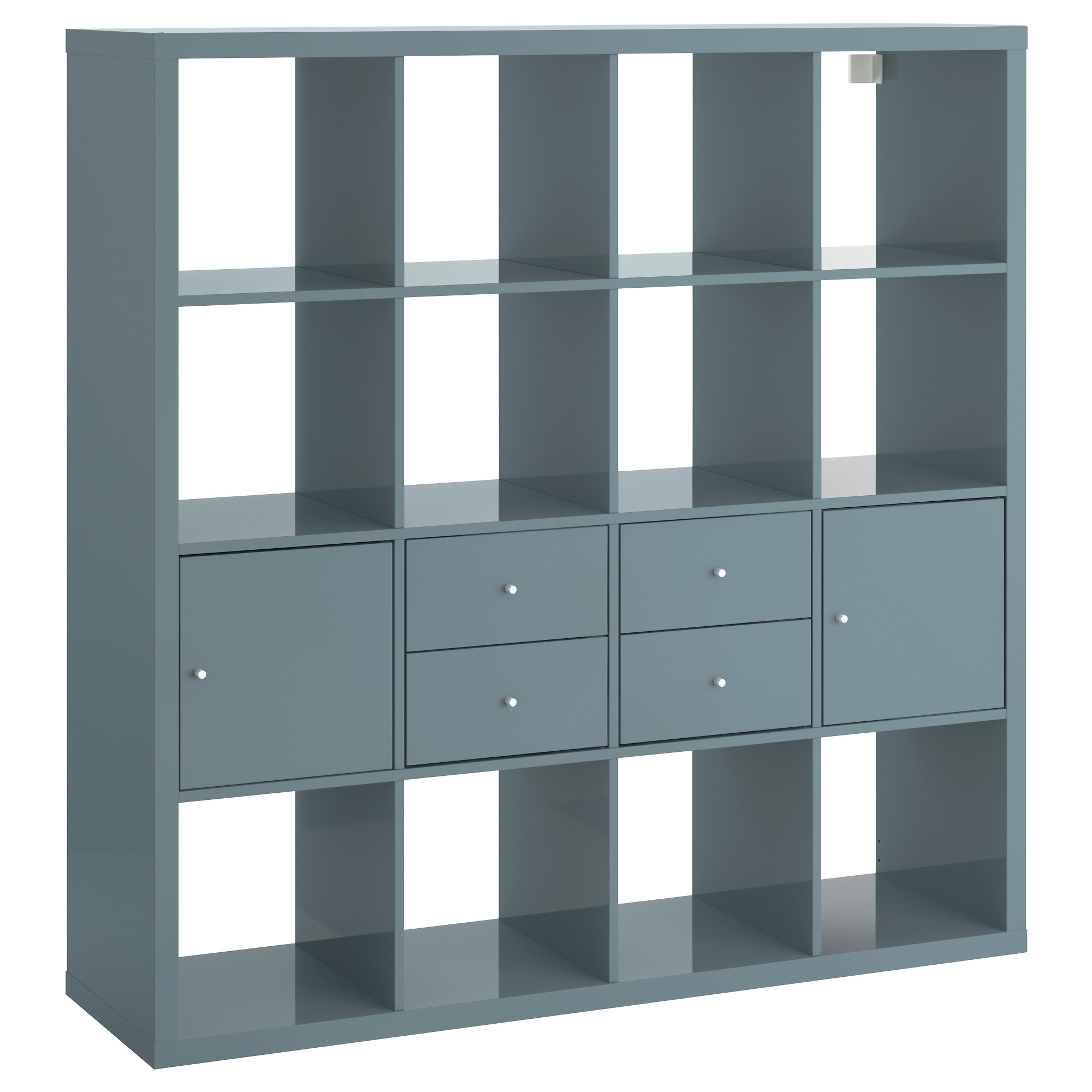 Current Kallax Shelf Unit With 4 Inserts – Ikea In Ikea Expedit Bookcases (View 6 of 15)