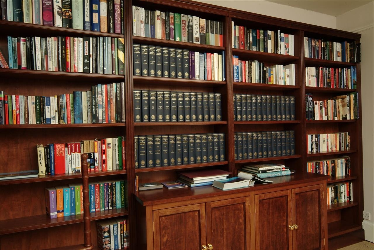 Current Libraries And Wall To Wall In Library Bookcases (View 8 of 15)