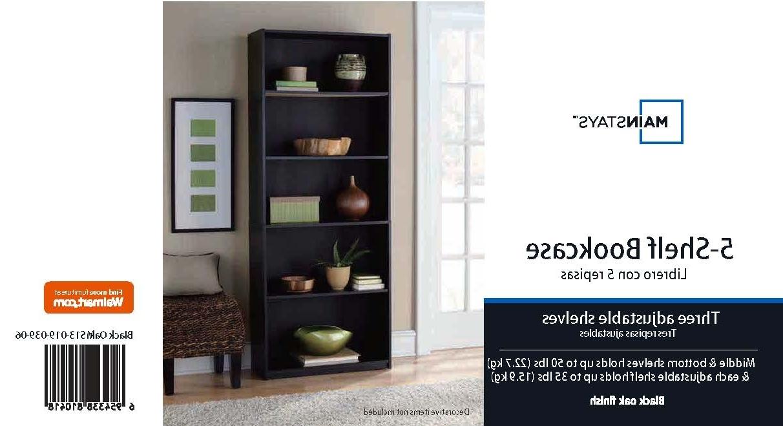 15 Best Ideas of Walmart 3 Shelf Bookcases