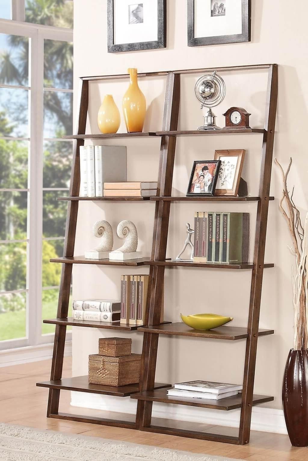 Current Menards Bookcases In Furniture: Enticing Leaning Bookcase Ideas – Leaning Bookcase With (View 6 of 15)