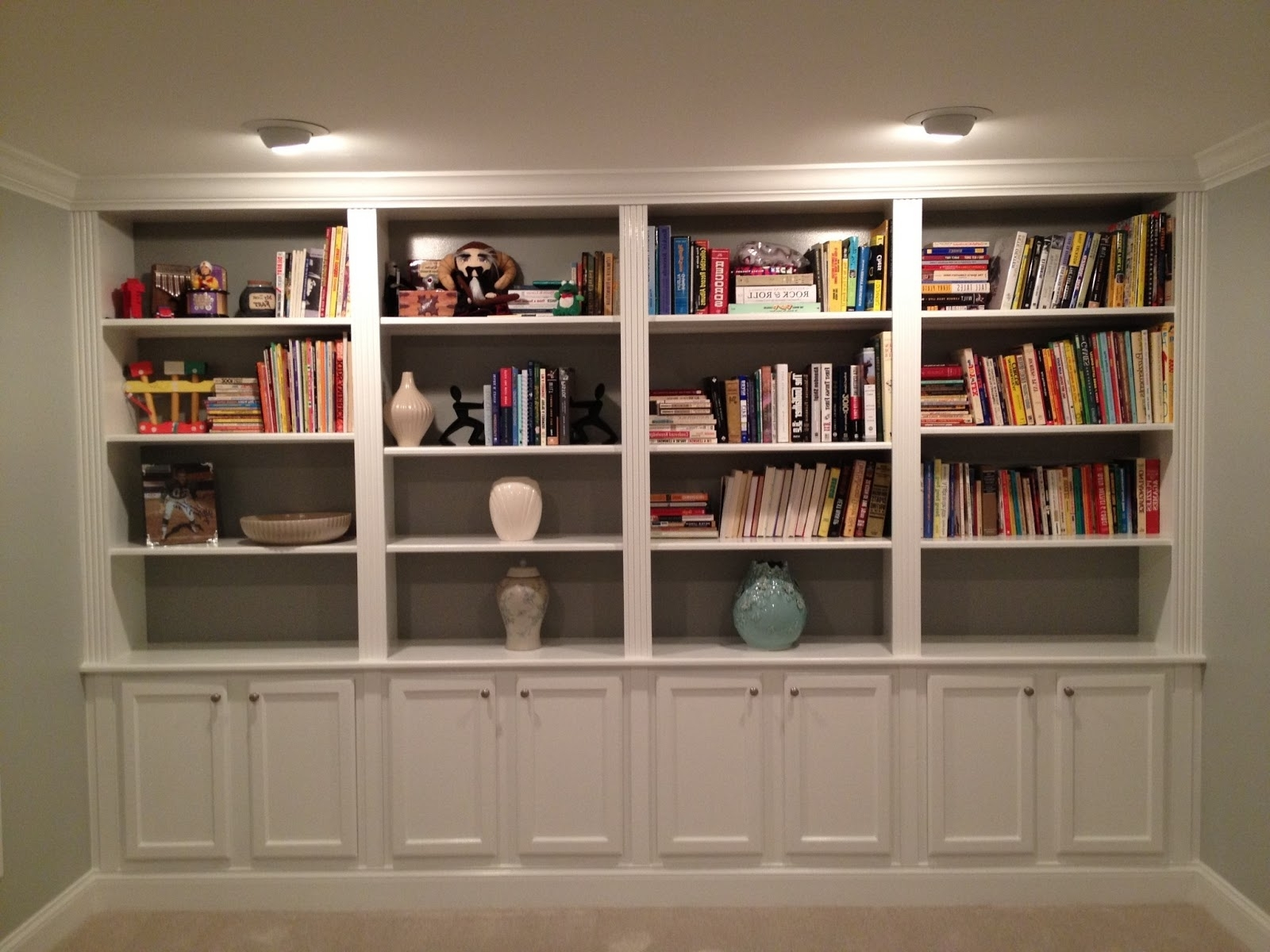 Current New Luxury Bookshelf Lighting 12Es #902 With Bookcases Lighting (View 6 of 15)