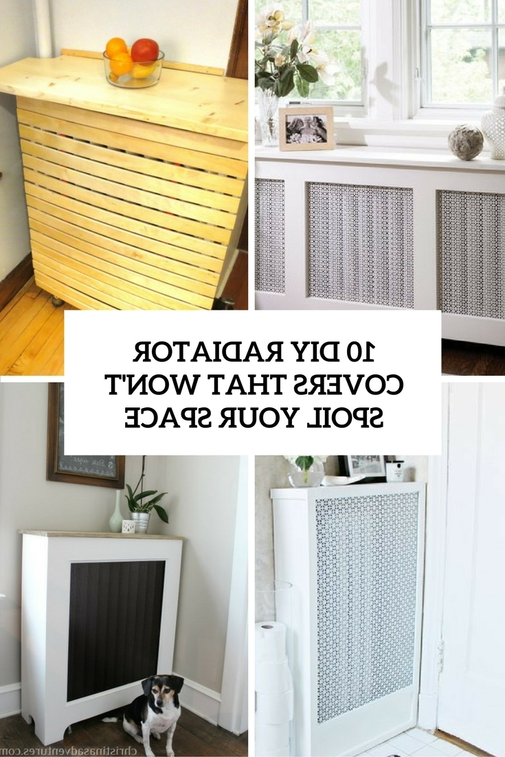 Current Radiator Cover Shelf Unit Pertaining To 10 Diy Radiator Covers That Won't Spoil Your Space – Shelterness (View 6 of 15)