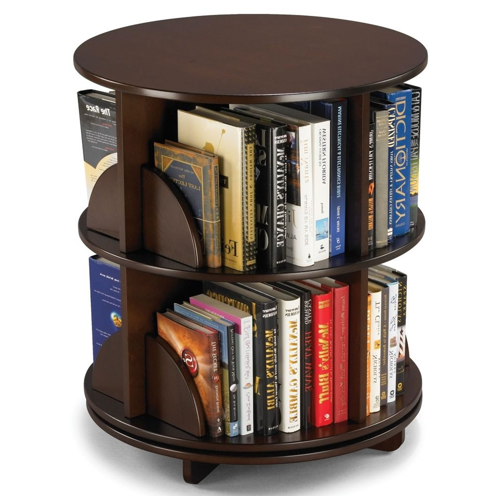 Current The Rotating Bookcase – Hammacher Schlemmer With Regard To Rotating Bookcases (View 6 of 15)