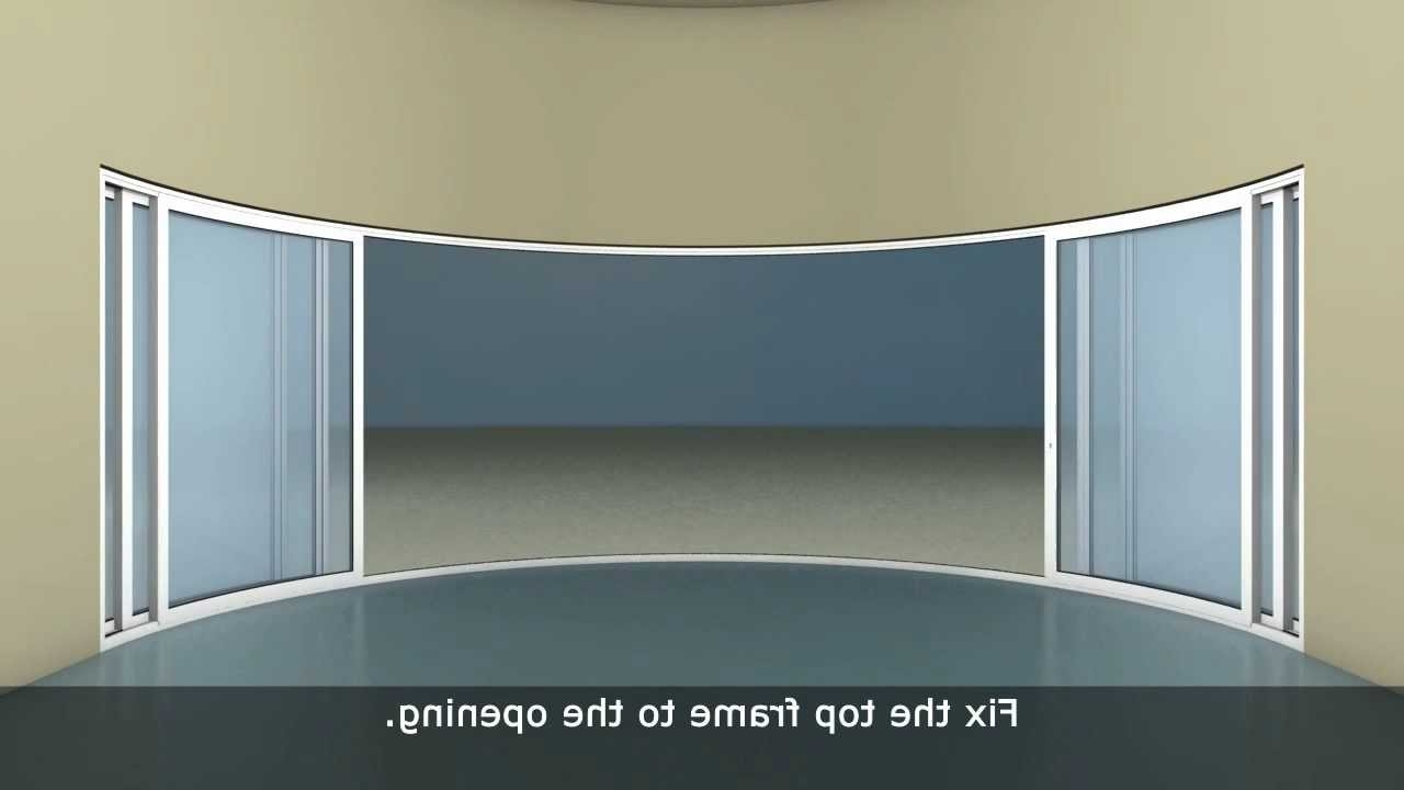 Curved Wardrobe Doors Throughout Most Current Curved Doors & Curved Doors Letting Outside In (View 5 of 15)