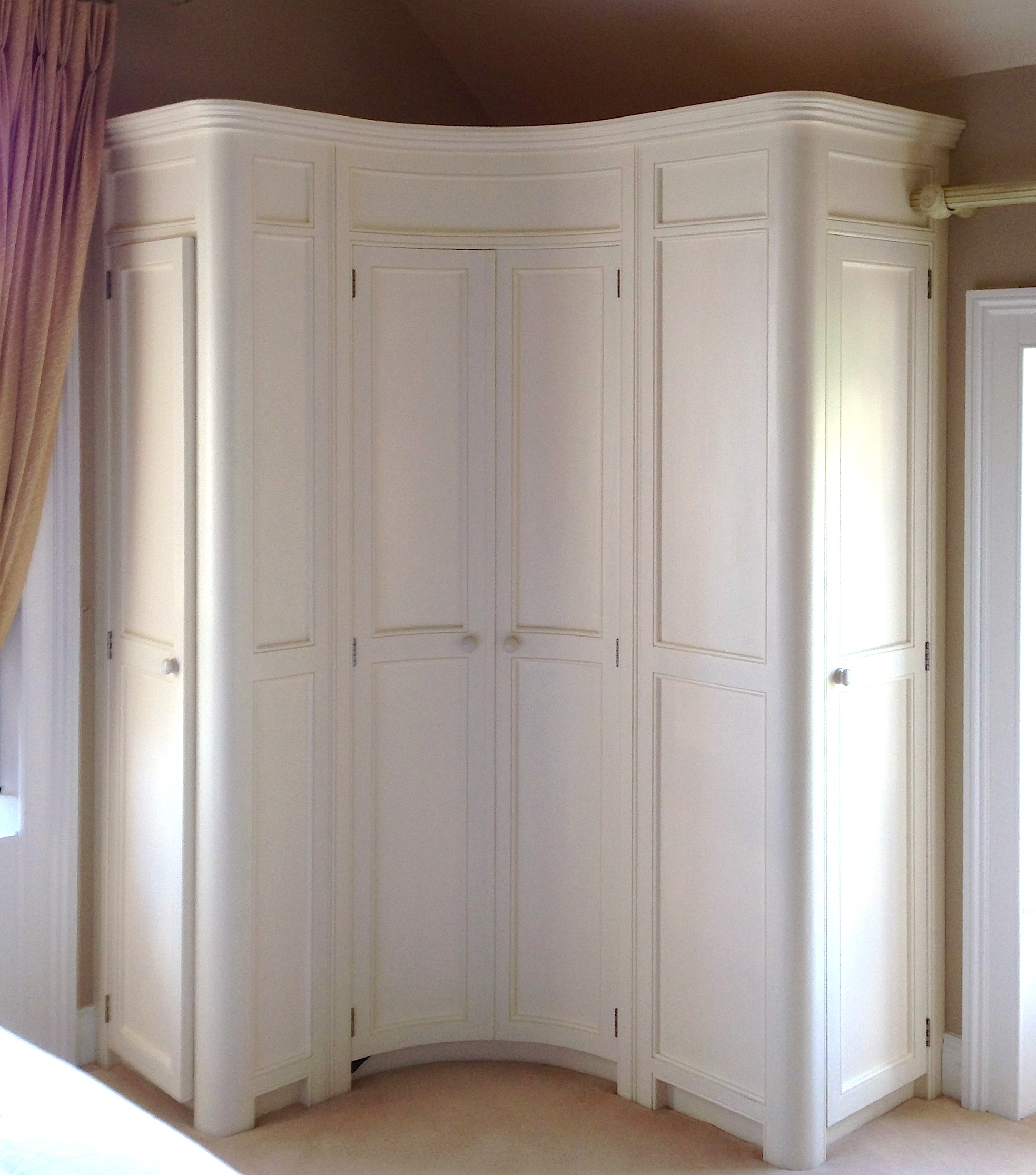 Curved Wardrobes Doors Regarding Well Known Znalezione Obrazy Dla Zapytania Corner Wardrobe Ikea (View 3 of 15)