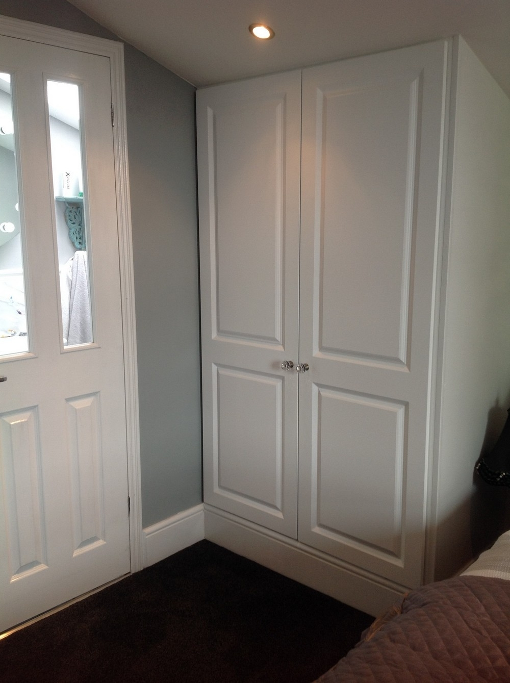Curved Wardrobes Doors With Popular Wardrobe Doors, Replacement Wardrobe Doors, Fitted (View 5 of 15)