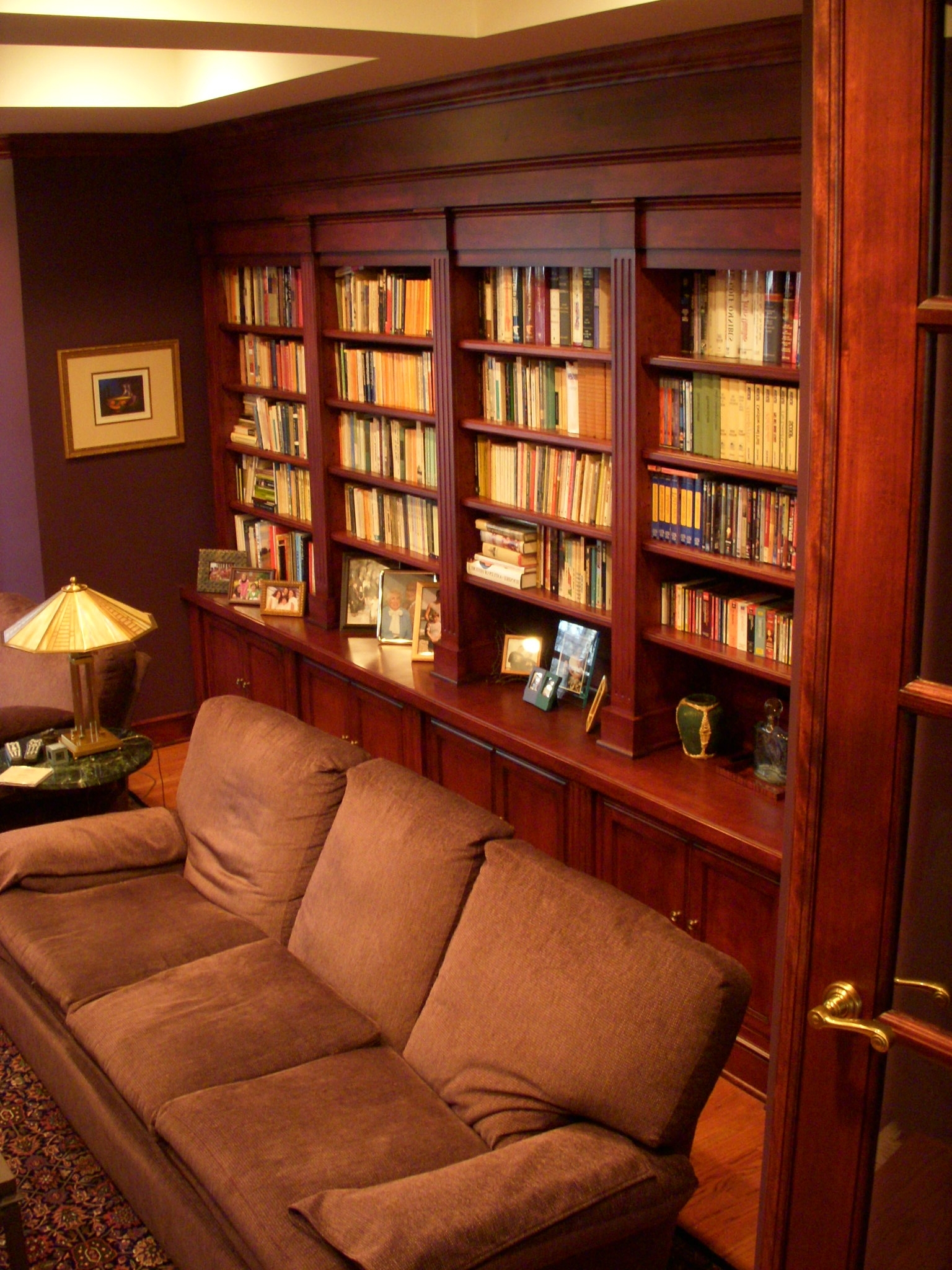 Custom Bookcases Within Most Up To Date Gallery Of Custom Bookcases And Home Office Renovations (View 9 of 15)