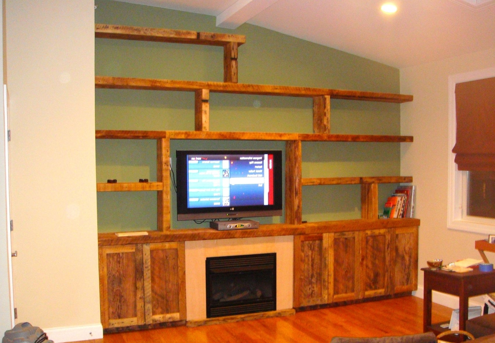 Custom Made Shelving Units Inside Well Liked Custom Built Wall Units & Custom Made Built In Tv Wall Units (View 6 of 15)