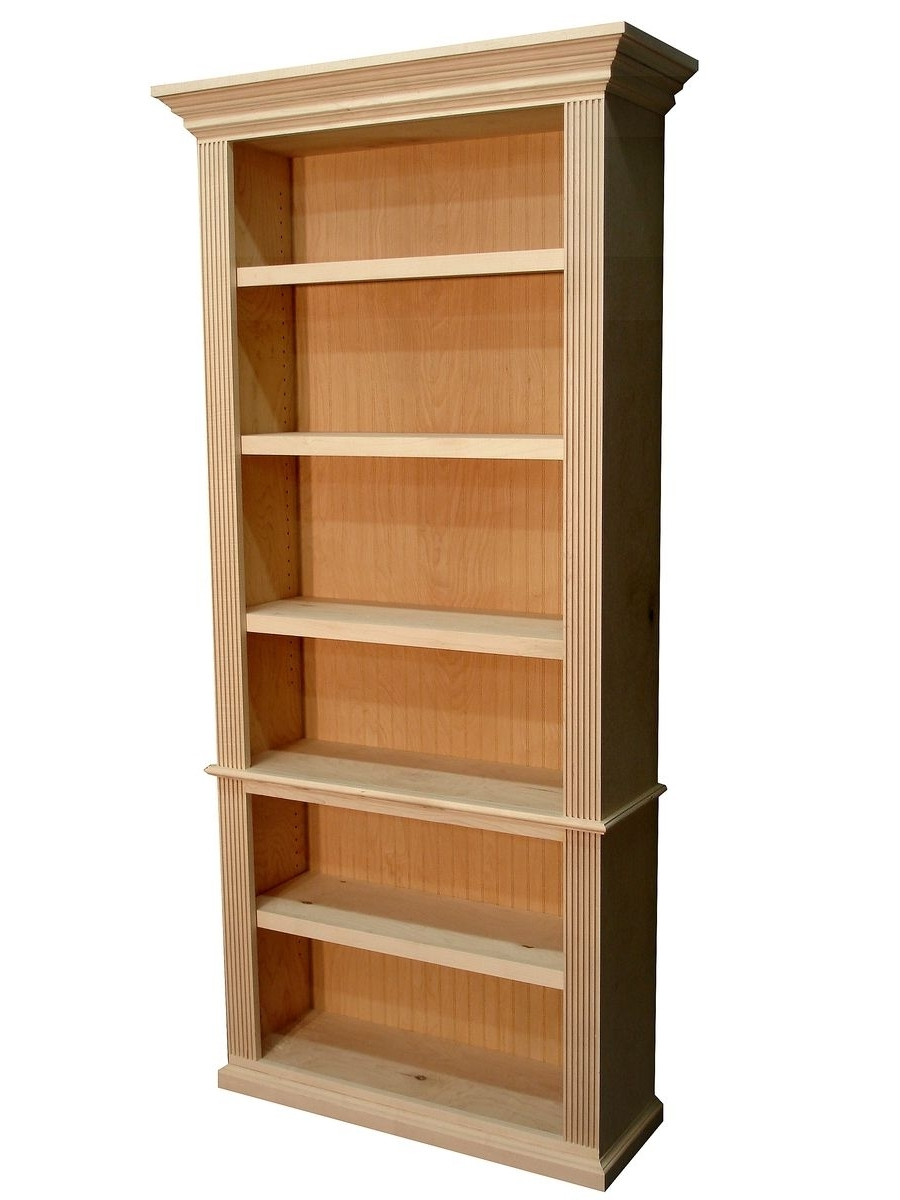 Custom Traditional Style Bookcasedurham Bookcases (View 9 of 15)
