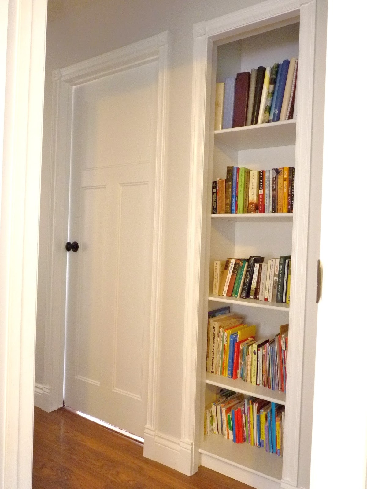 D I Y D E S I G N: Closet Bookshelf Throughout Well Liked Bookcases Cupboard (View 7 of 15)