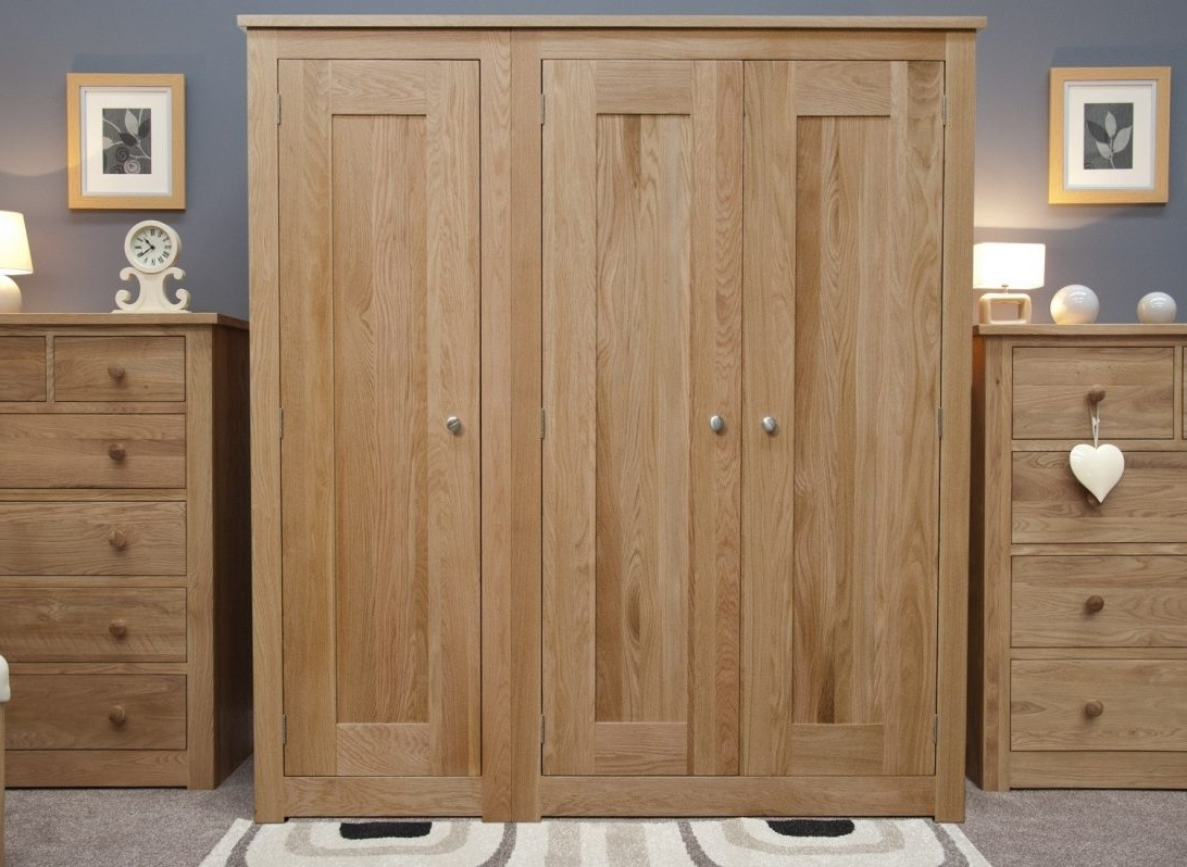 Dark Wood Wardrobes With Drawers For 2017 Solid Dark Wood Wardrobes White 3 Door Wardrobe Uk Armoire You (View 4 of 15)