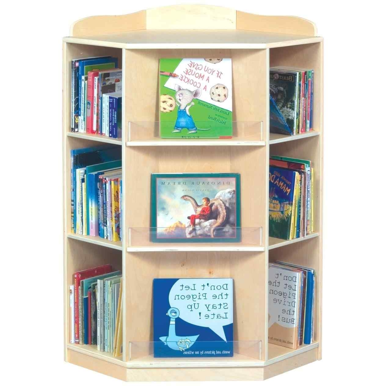 Decoration Corner Bookshelves For Kids Storage Wall Bookcase Regarding Well Liked Bookcases For Toddlers (View 9 of 15)