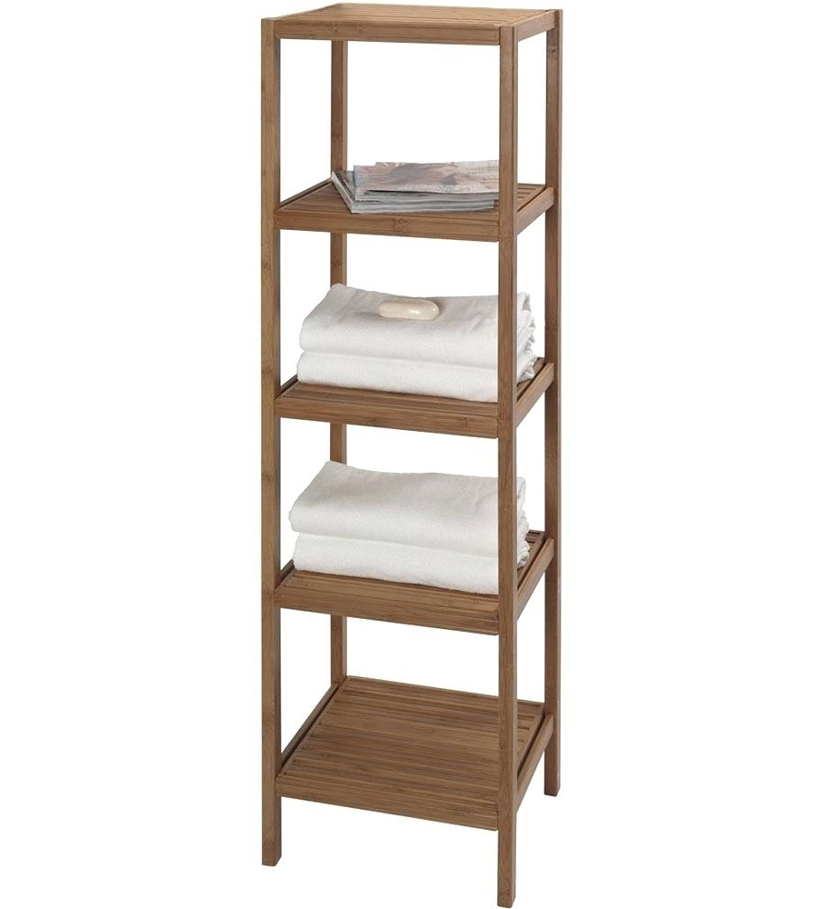 Decoration: Wood Freestanding Shelving Unit With Regard To Newest Free Standing Shelving Units Wood (View 2 of 15)