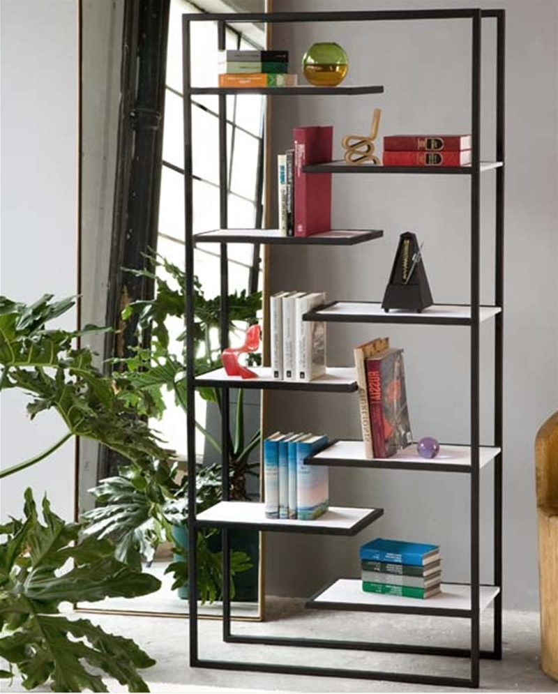 Decorative Bookcases Pertaining To Recent Contemporary And Functional Scala Bookcase Design For Home (View 7 of 15)