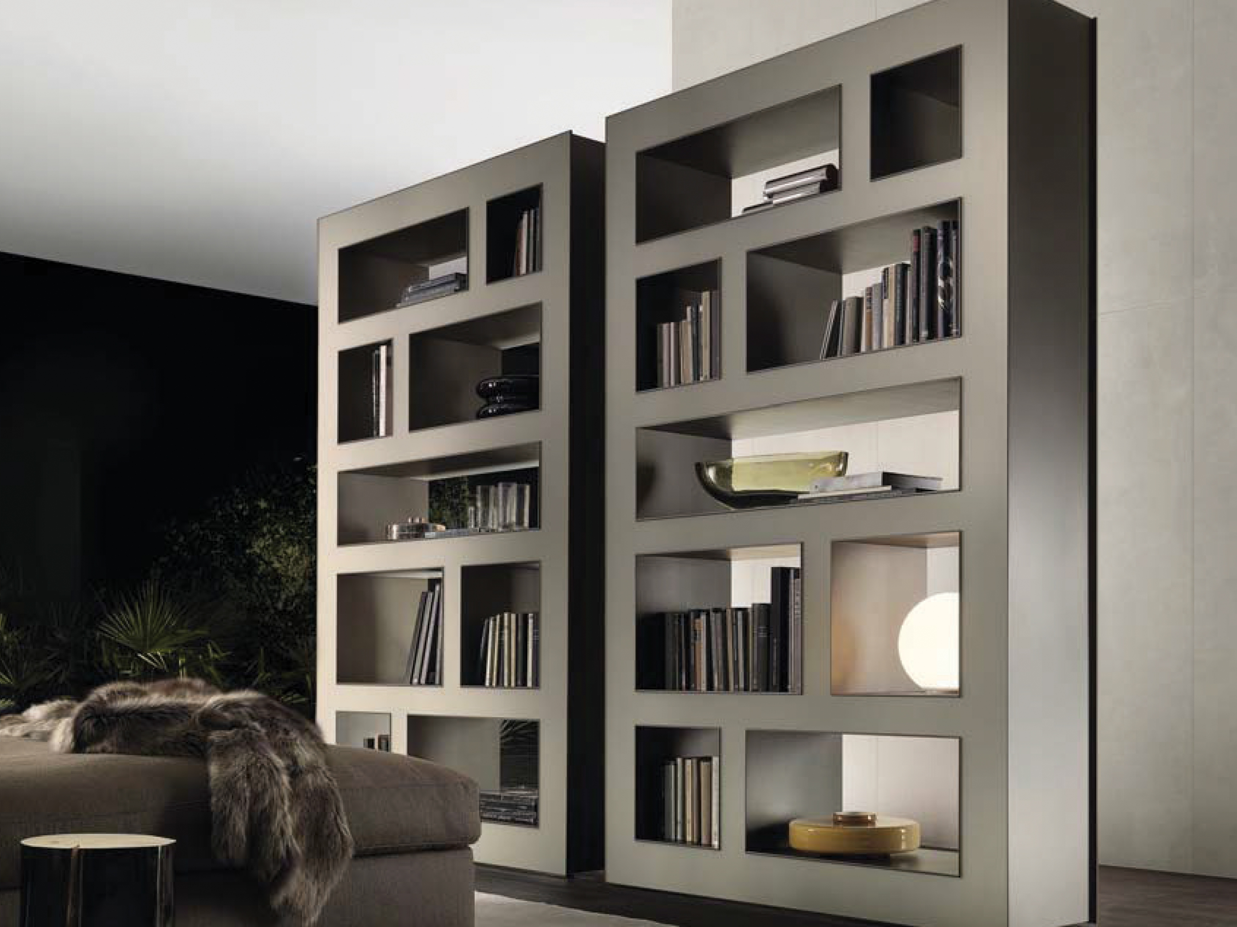 Design A Bookcases Pertaining To Fashionable Rimadesio Bookcase – Stele (View 2 of 15)
