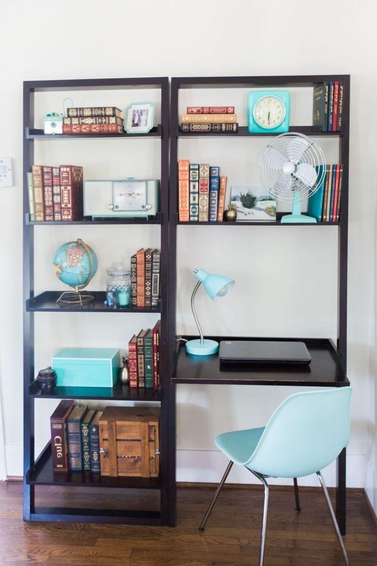 Desk Bookshelf Combo (View 4 of 15)