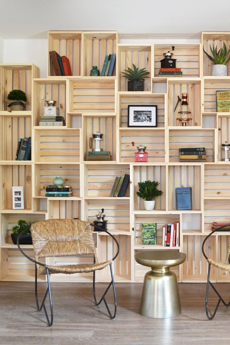 Diy Bookcase: Guidelines That Will Help You In Making A Perfect Pertaining To Widely Used Diy Bookcases (View 2 of 15)