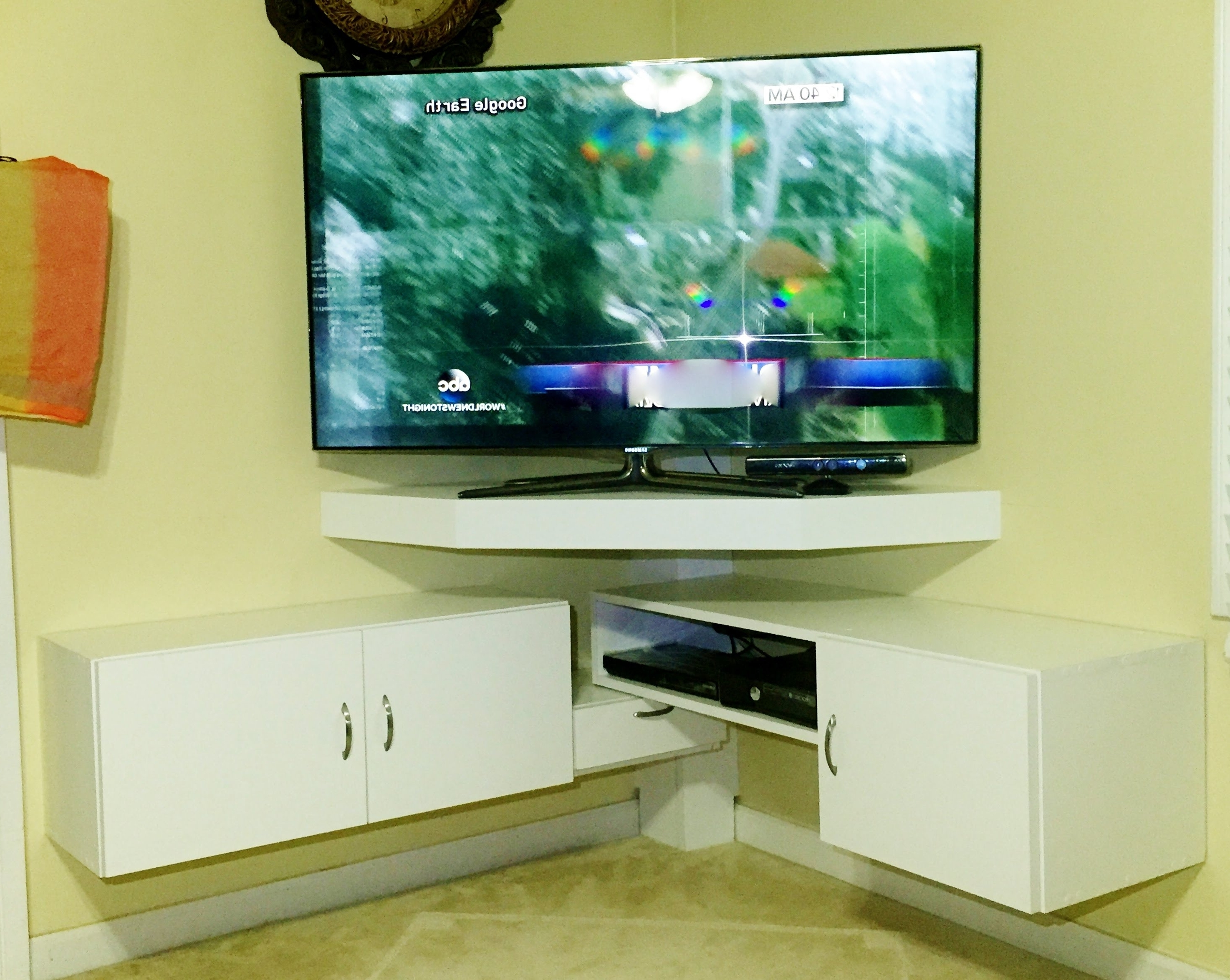Featured Photo of Tv Corner Shelf Unit