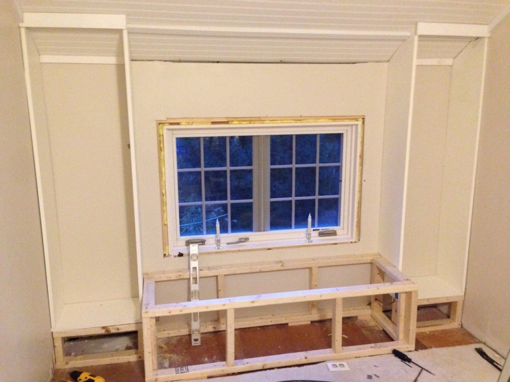 Diy: How To Build A Window Seat And Built In Bookcases – Tucker's With Regard To Recent Under Window Bookcases (View 5 of 15)