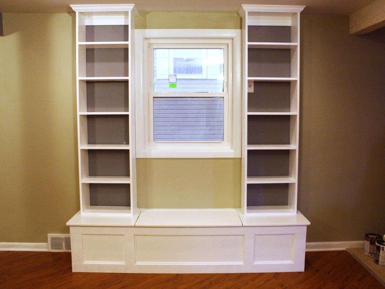 Diy In Most Up To Date Under Window Bookcases (View 4 of 15)