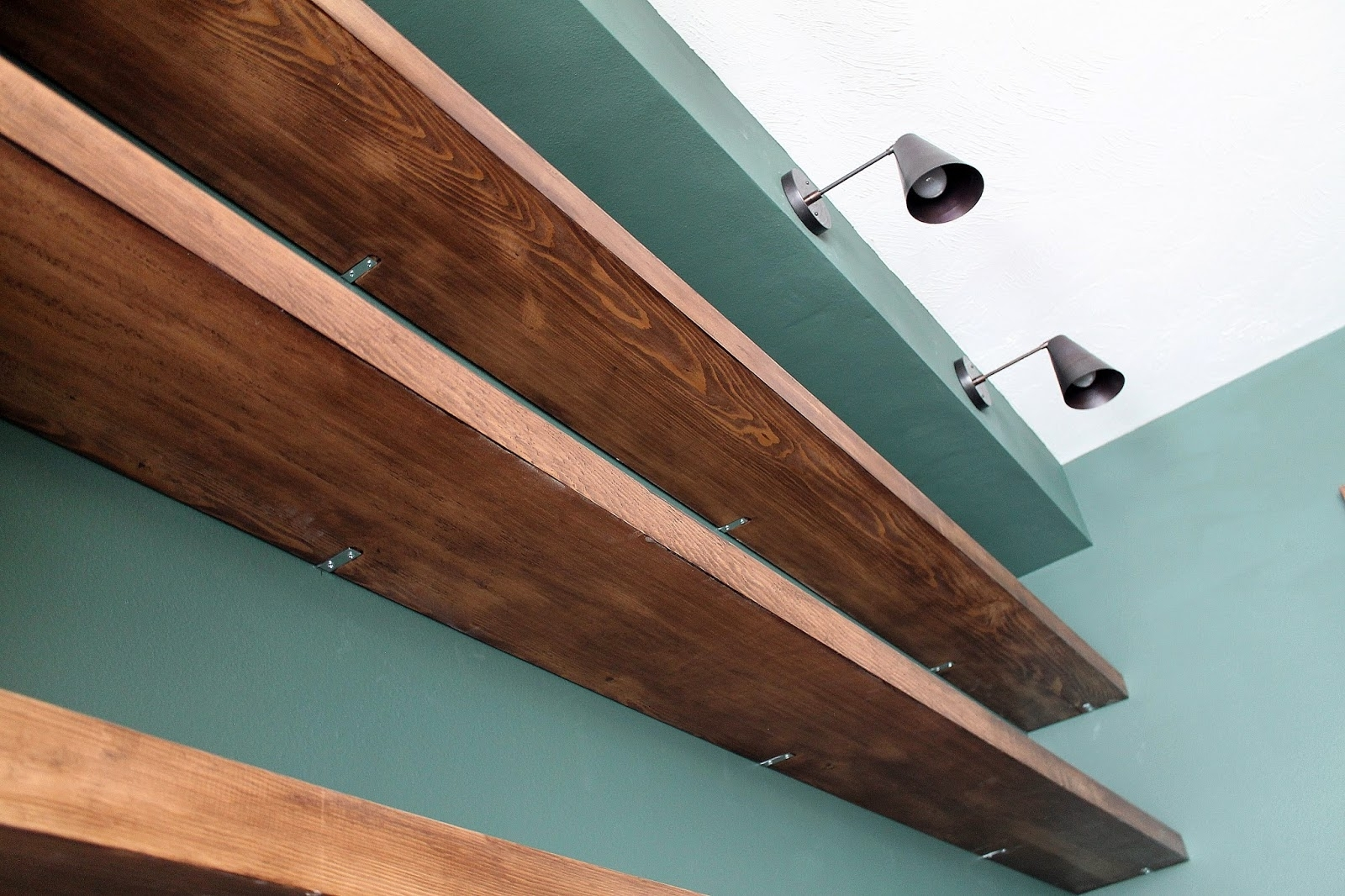 Diy Solid Wood Wall To Wall Shelves – Chris Loves Julia Within Well Known Wood For Shelves (View 1 of 15)