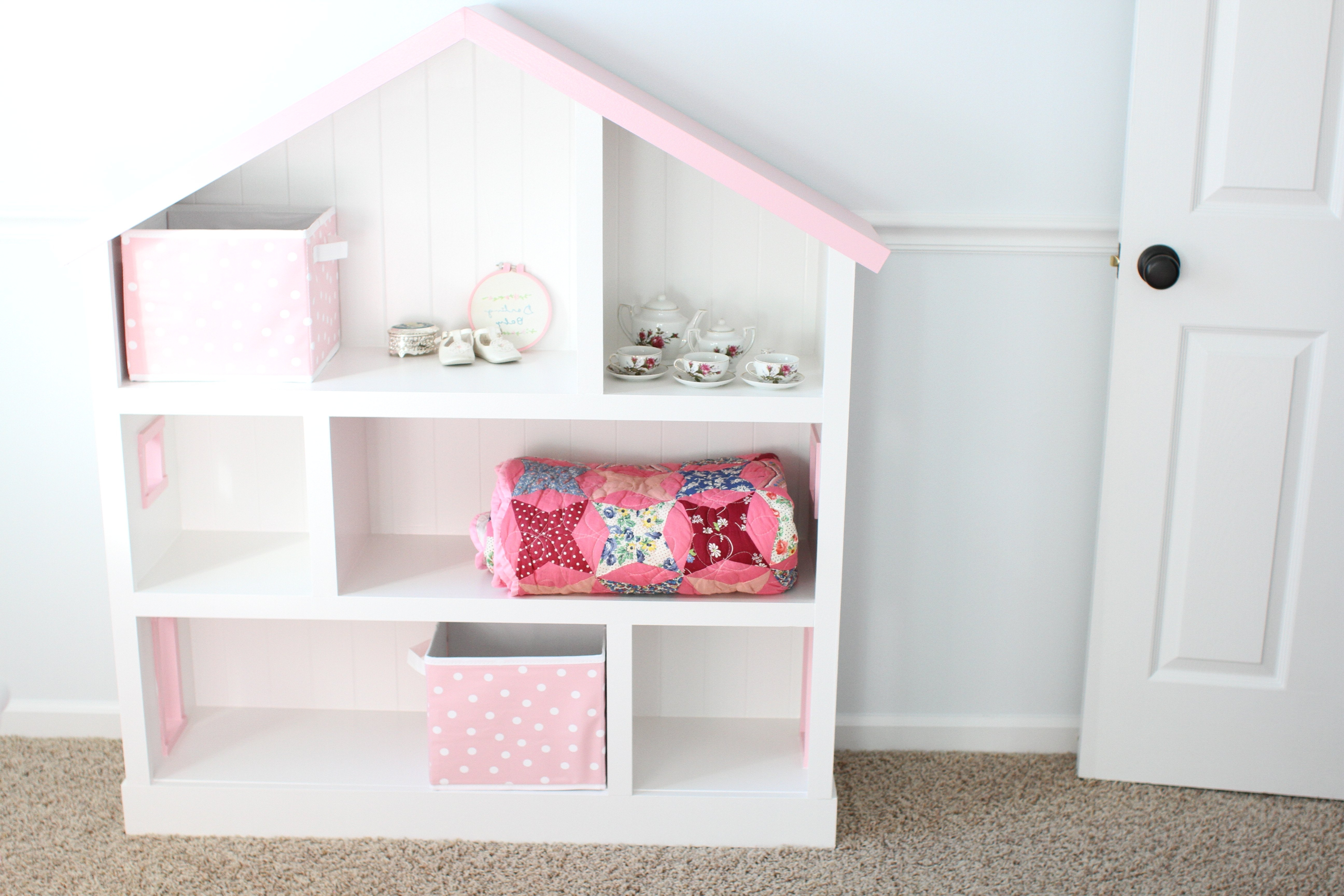 Dollhouse Bookcases Intended For Newest Diy Dollhouse Bookcase – I Can Teach My Child! (View 8 of 15)