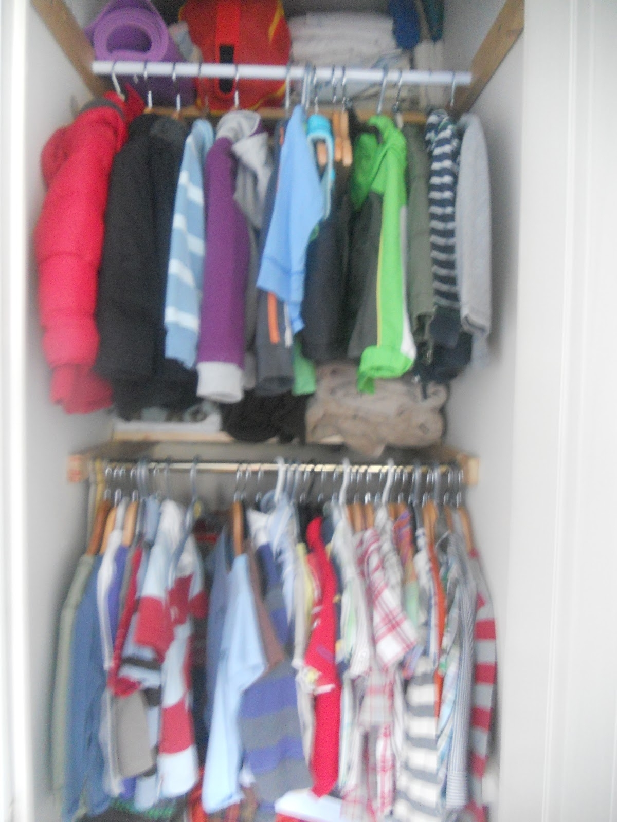 Double Hanging Rail Wardrobes In Trendy Making It As Mum: Making It Home (View 5 of 15)