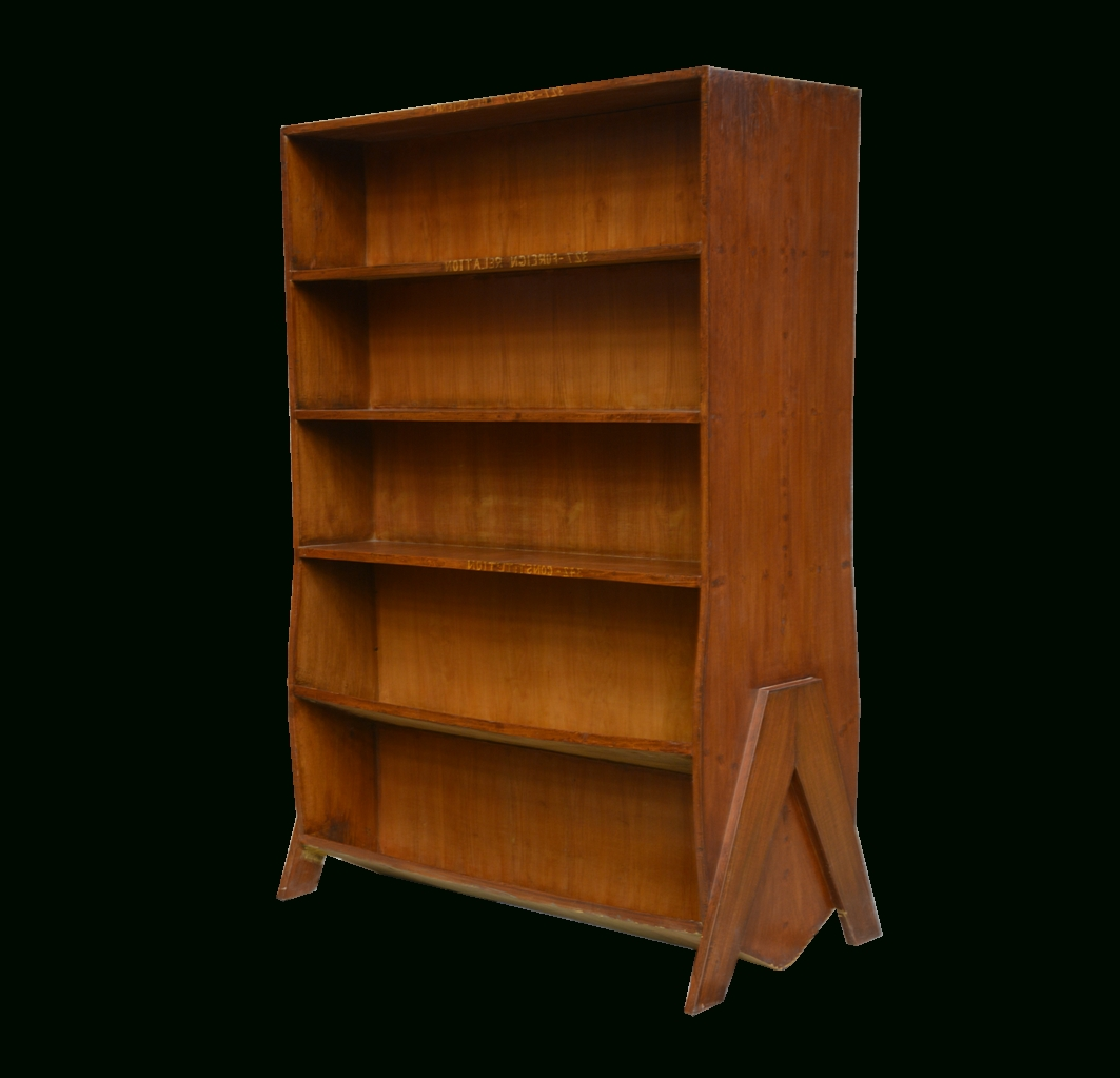 Double Sided Bookcases In 2018 Double Sided Bookcasepierre Jeanneret, 1958 For Sale At Pamono (View 2 of 15)