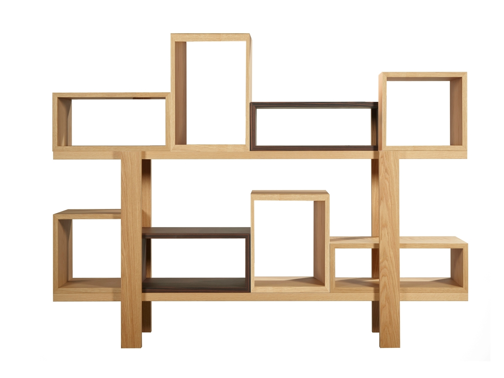 Double Sided Bookcases Regarding Popular Bookcases Ideas: Double Sided Bookcases Online Arredaclick Double (View 7 of 15)