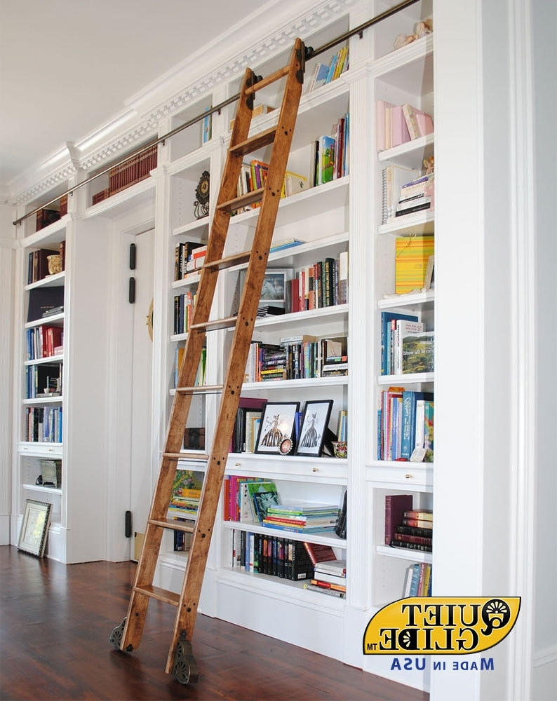 Ebay With Most Recent Rolling Library Ladder (Gallery 6 of 15)