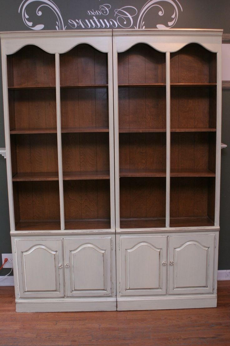 Ethan Allen Bookcases For Best And Newest Furniture Home: Ethan Allen Bookcase Legacy Double Arch Library (View 12 of 15)