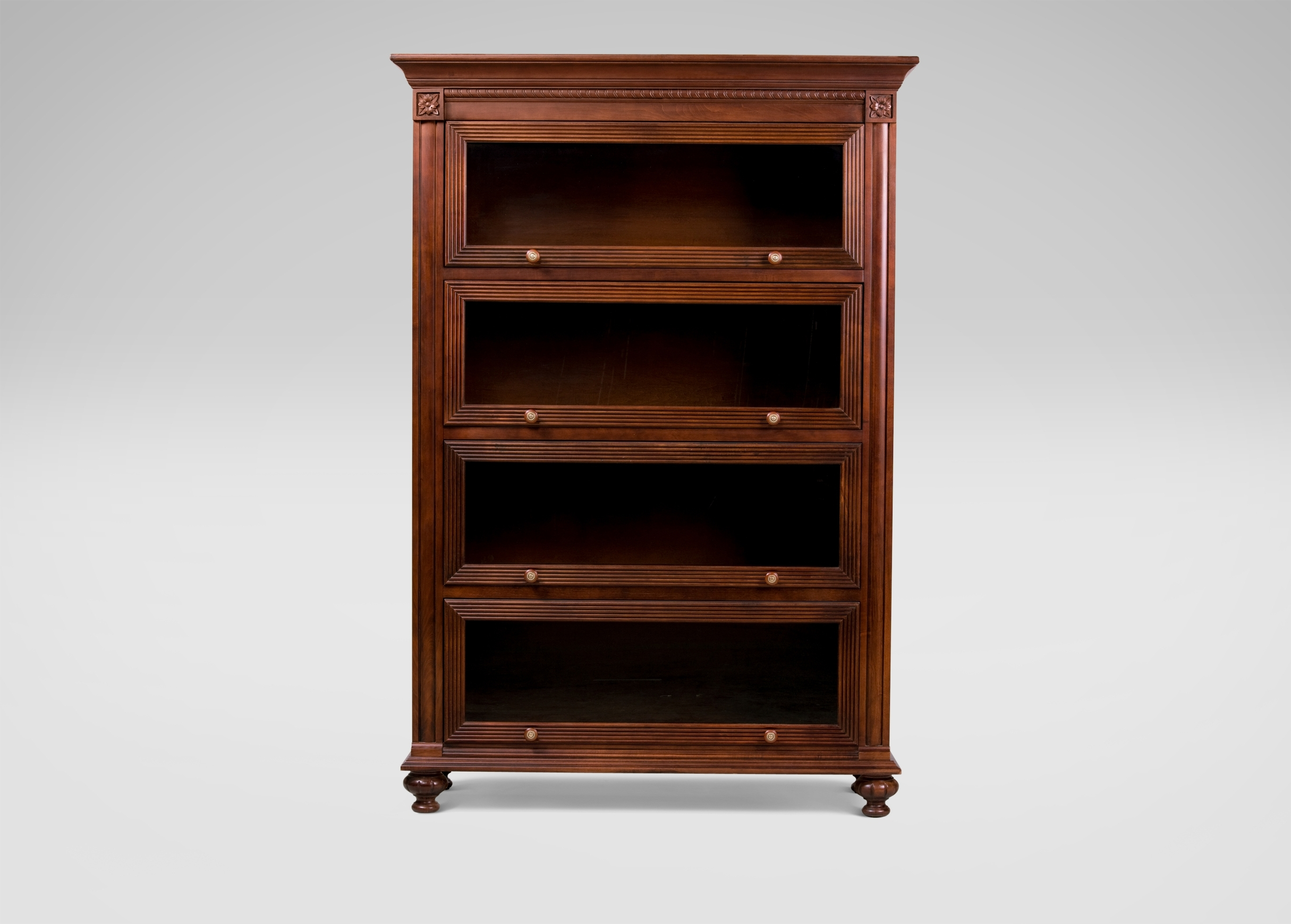 Ethan Allen Bookcases Inside Well Known Marshall Barrister Bookcase (View 10 of 15)